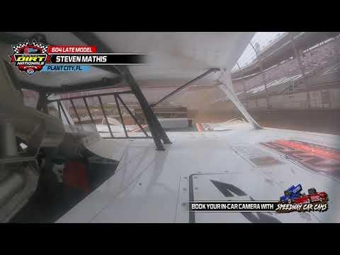 #95M Steven Mathis - 604 Late Model - 3-2021 Bristol Dirt Nationals - InCar Cam - dirt track racing video image