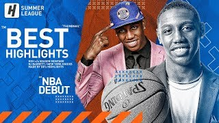 RJ Barrett NBA Debut! BEST Highlights & Moments from 2019 NBA Summer League!