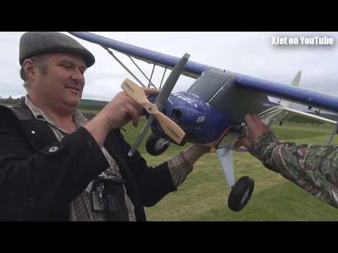 Things that should not fly #8, Roddy's crashed EFlight Cub - UCQ2sg7vS7JkxKwtZuFZzn-g