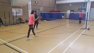 Badmington Coaching With Shirley Onyebuashi Coaching Game 1