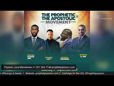 4 Things to Master when you receive your Prophetic Word with Apostle Innocent Java