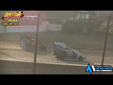 Jamestown Speedway Slingshot Races (5/15/21) - dirt track racing video image