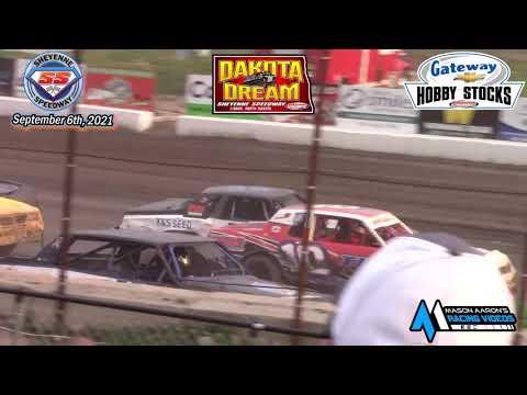Sheyenne Speedway Hobby Stock A-Main (2021 Dakota Dream) (9/6/21) - dirt track racing video image