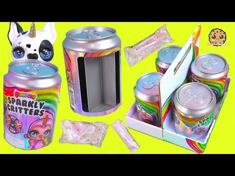 Slime Surprise ! Poopsie Sparkly Critters Big Blind Bag SODA CANS - Toy Video - UCelMeixAOTs2OQAAi9wU8-g