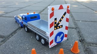 Truck for kids unboxing block dispatch video for kids