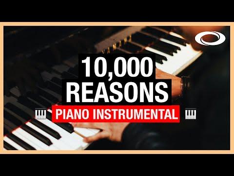 10,000 Reasons - Piano Instrumental
