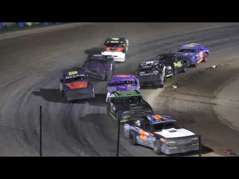 Street Stock B-Feature #1 at Crystal Motor Speedway, Michigan on 09-18-2021!! - dirt track racing video image