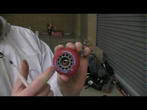 Replace Inline Skate Bearings
