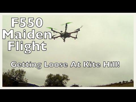 Dji F550 Maiden Flight - Sporty! - UCTa02ZJeR5PwNZK5Ls3EQGQ