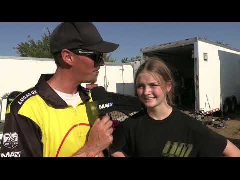 8 27 21 POWRi West Pit Walk at Creek County Speedway - dirt track racing video image