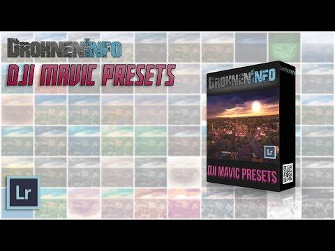 DJI Mavic Lightroom Preset Paket - UCfV5mhM2jKIUGaz1HQqwx7A