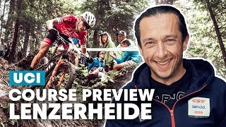 XCO Course Preview with Bart Brentjens and Manuel Fumic | Lenzerheide UCI MTB World Cup 2019