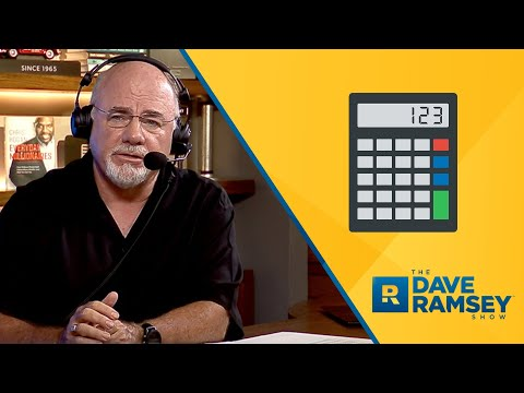 Math Doesn't Always Fix The Problem - Dave Ramsey Rant
