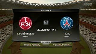 FC Nürnberg vs Paris Saint-Germain||Club Friendly Match||HD Gameplay||Fifa19||Highlights||
