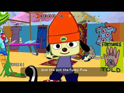 Does Parappa the Rapper Still Hold Up? - PSX 2016 - default