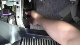 Sostituzione filtro aria abitacolo Nissan Juke
