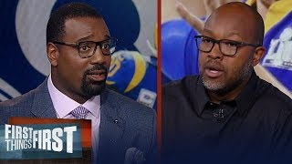 Torry Holt expects Rams to win division, talks Todd Gurley   NFL   FIRST THINGS FIRST