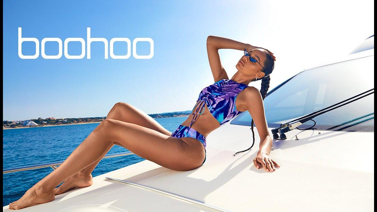 BOOHOO Swimwear bikini LIVESTREAM/ Fashion Show / Miami swim week 2021