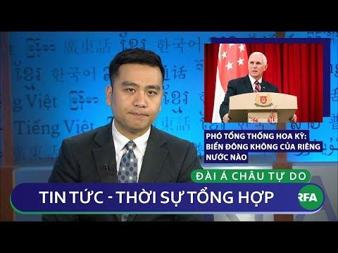 Tin nóng 24h | Phó Tổng thống Mỹ tuyên bố Biển Đông không của riêng nước nào
