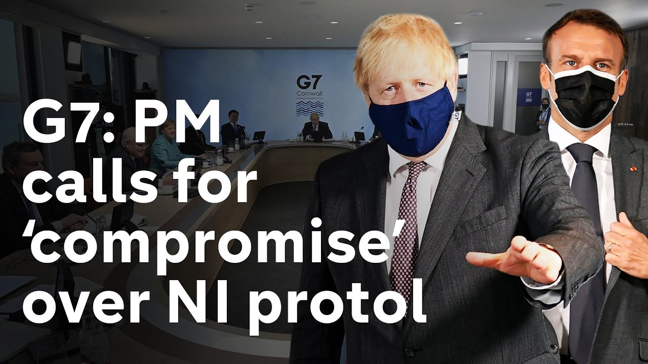PM wants 'pragmatism and compromise' over NI protocol