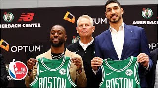 Kemba Walker and Enes Kanter introductory Boston Celtics press conference | NBA on ESPN