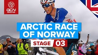 Arctic Race Of Norway 2019 Stage 3 Highlights: Sortland - Storheia Summit Finish | GCN Racing