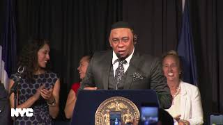 Mayor de Blasio Delivers Remarks at the Dominican Heritage Reception