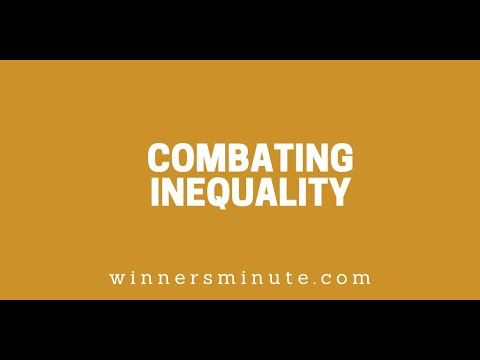 Combating Inequality // The Winner's Minute With Mac Hammond