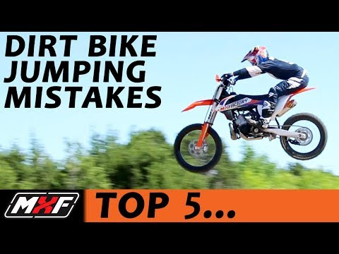 Top 5 Jumping Mistakes on a Dirt Bike - Most Common Problems & Solutions!! - UCOZm6Utdkljzi8ykk6zndgA