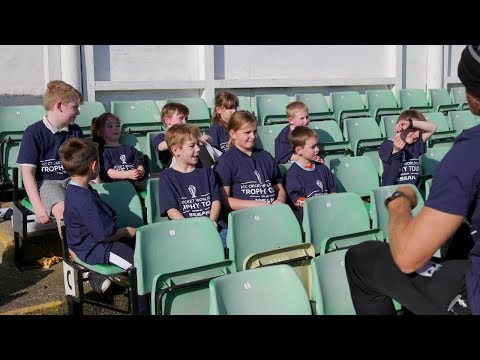 Local kids put their questions to Worcestershire players