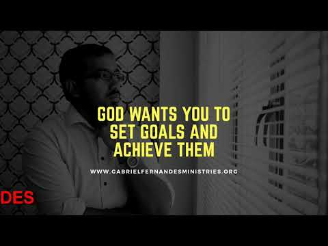 SET GOALS AND ACHIEVE THEM BECAUSE GOD HAS OPENED THE WAY FOR YOU, Daily Promise and Powerful Prayer