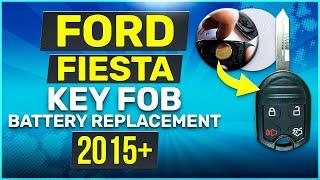 Cambiare batteria telecomando Fiesta-Ford 2015