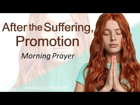 1 PETER 5 - AFTER THE SUFFERING PROMOTION - MORNING PRAYER  PASTOR SEAN PINDER (video)