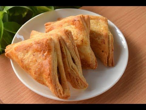 बेकरी जैसे अनेकों परतों के साथ क्रिस्पी पफ आलू पेटीज बनाने आसान तरीका-Puff Patties Recipe| Recipeana - default