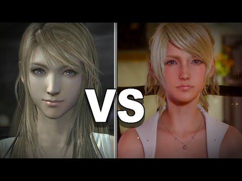 Final Fantasy XV - Luna vs. Stella - default