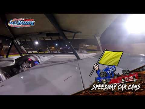 #2 Dusty Quillen - 602 Crate Late Model - Ice Bowl 2021 - Talladega Short Track - In-Car Camera - dirt track racing video image