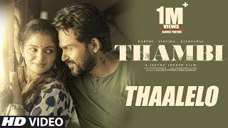 Video Trailer Thambi