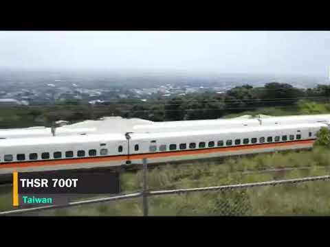 Top 10 fastest trains in the world, super awesome!!!
