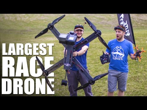 World's Largest Race Drone | Flite Test - UC9zTuyWffK9ckEz1216noAw