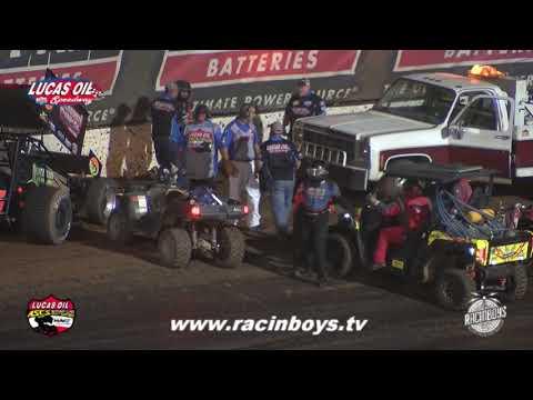 Lucas Oil ASCS Friday Highlights Hockett McMillin Memorial 9 17 21 - dirt track racing video image