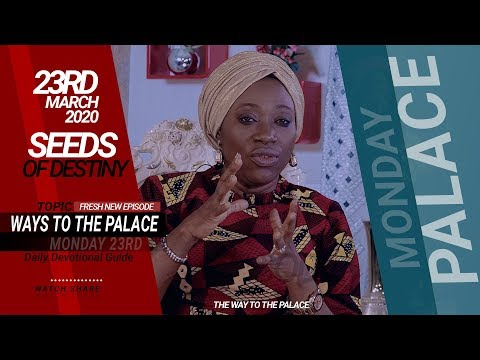 Dr Becky Paul-Enenche - SEEDS OF DESTINY  MONDAY, 23 MARCH, 2020