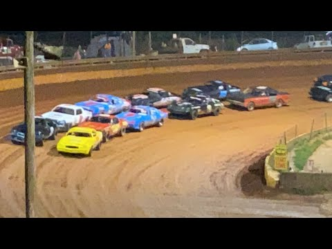 8/20/2021 Pure Stock Lavonia Speedway - dirt track racing video image
