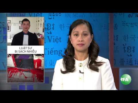 Nhà riêng LS Trần Thu Nam bị ném sơn trộn mắm tôm