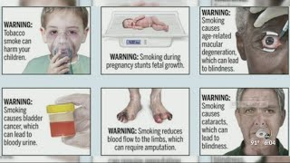 Graphic images will be added to cigarette boxes
