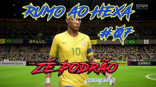 Brasil rumo ao hexa!!! FIFA 18 World Cup - RUSSIA #07 FINAL!!  (Brasil x Alemanha)