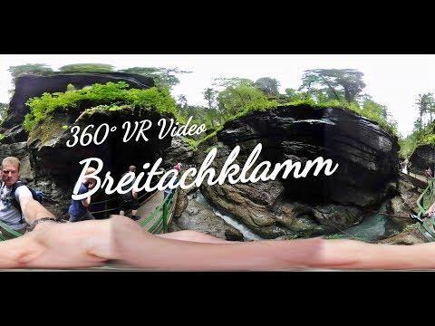 Spaziergang durch die Breitachklamm mit 360° VR Video Blick / Allgäu - UCNWVhopT5VjgRdDspxW2IYQ