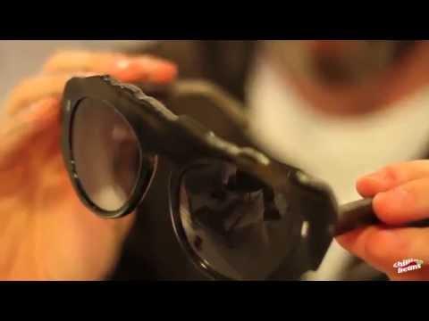 Coleção Passarela - Herchcovitch   Óculos Osso 099b6c2264