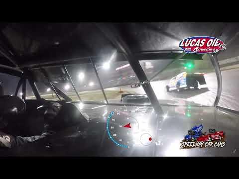 #91 Joe Duvall - Usra Modified - 10-8-2021 Lucas Oil Speedway - In Car Camera - dirt track racing video image