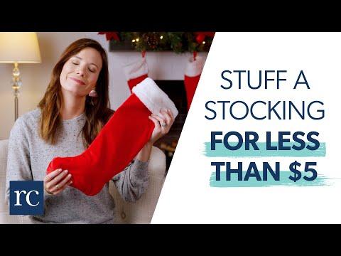 5 Ways to Stuff a Stocking Under $5