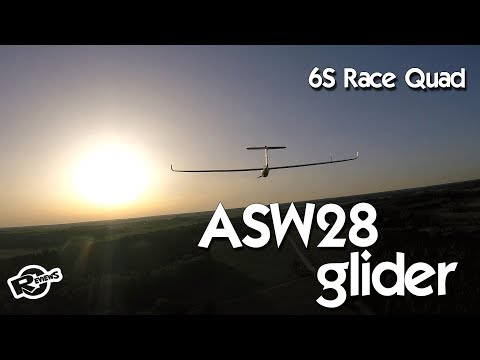 ASW 28 glider followed by Race quad for 8min - UCv2D074JIyQEXdjK17SmREQ